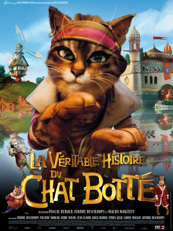 La Véritable histoire du Chat Botté affiche